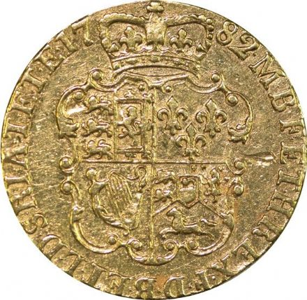 George III Gold Shield Guinea 1763 - 1786